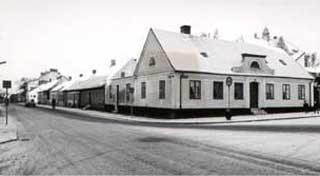 Västergatan och del av Gamla Torget.