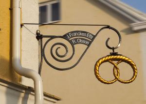 Invigningen av Francke kringla på gamla torget i Trelleborg