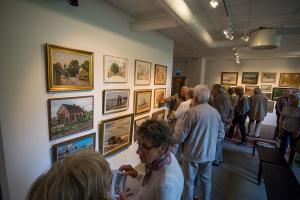 Trelleborgs Museum Vernissage av Gamla Trelleborgs almanackstavlor foto: Joachim Wall, SSb